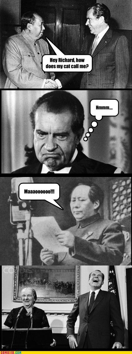 China history liu kang mao nixon politics puns - 3974726400