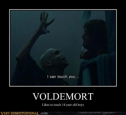 Harry Potter magic monster pedo scary Terrifying touching voldemort witchcraft