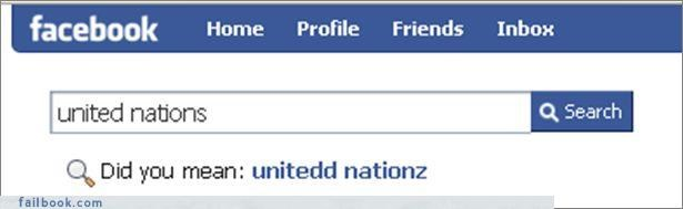facepalm lolspeak search The Spelling Wizard United Nations