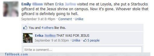 drama jesus oh snap religious Starbucks visiting - 3975633920