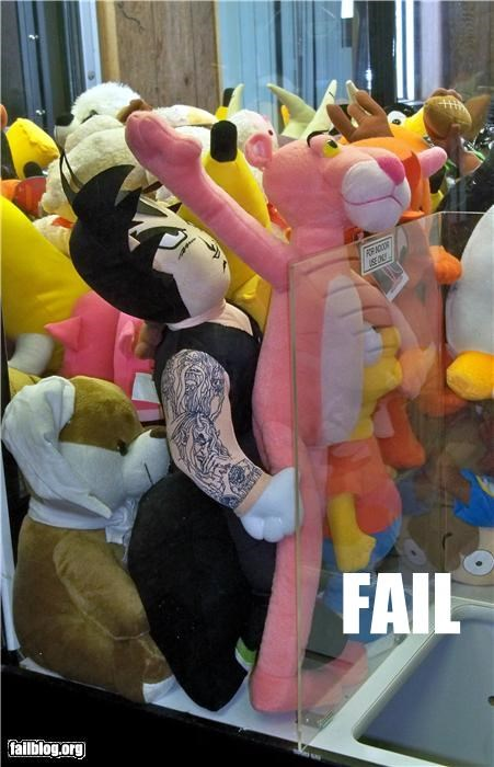 crane machine failboat innuendo stuffed animals Things That Are Doing It toys - 3975643904