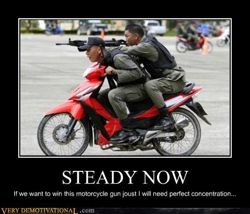 concentration steady motorcycle