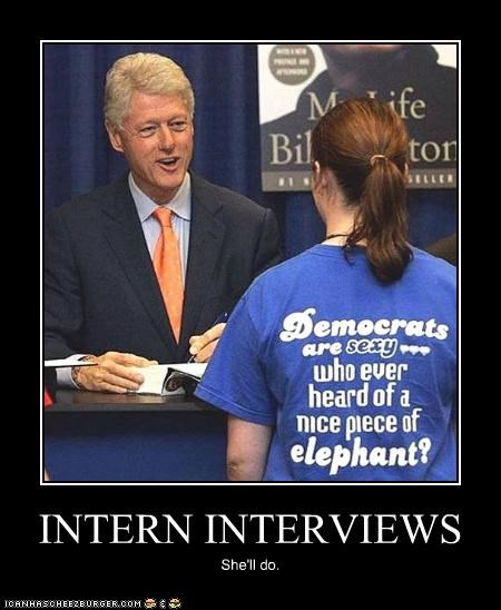 bill clinton Democrat demotivational funny lolz president - 3975900672