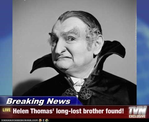 al lewis classic tv grandpa munster Helen Thomas look alikes The Munsters - 3975904256