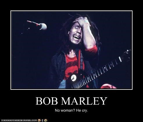 bob marley cry crying emo musicians no woman no cry Sad Songs - 3975909376