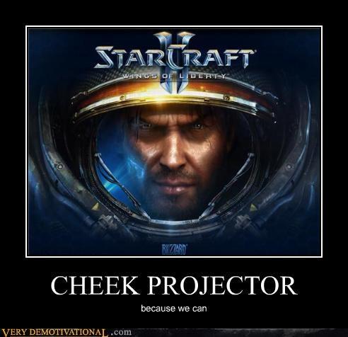 Star Craft 2 cheek projector - 3976135680