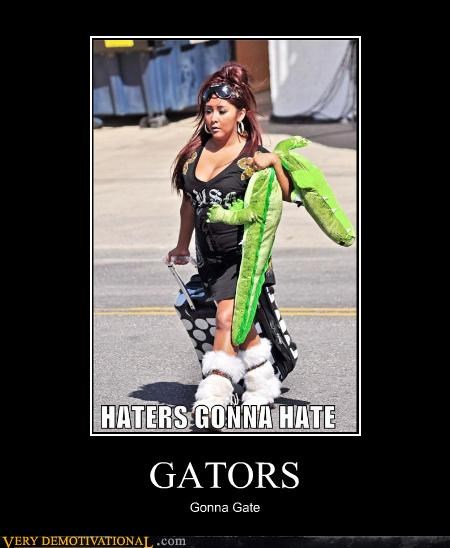gator,snooki,eww,stuffed