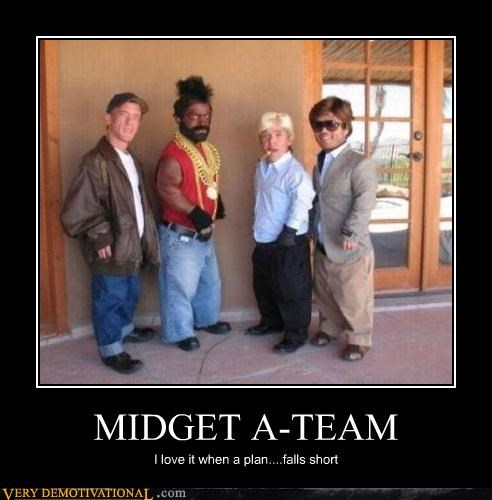 A Team awesome BA Baracas midgets puns Pure Awesome - 3977861376