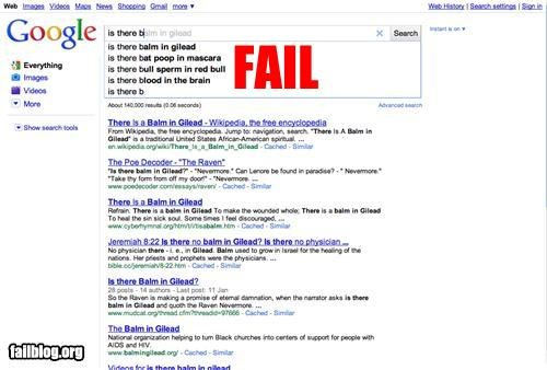 Autocomplete Me eww failboat google gross search - 3978431232