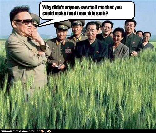 food Kim Jong-Il North Korea political pictures - 3978466048
