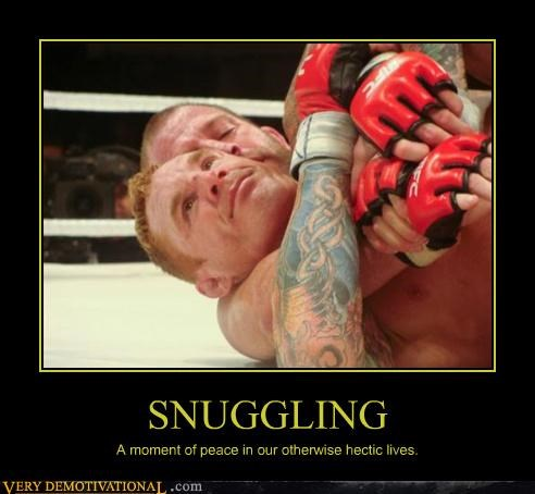 fighting hilarious homo-erotic mma modern living snuggling ufc - 3978603776