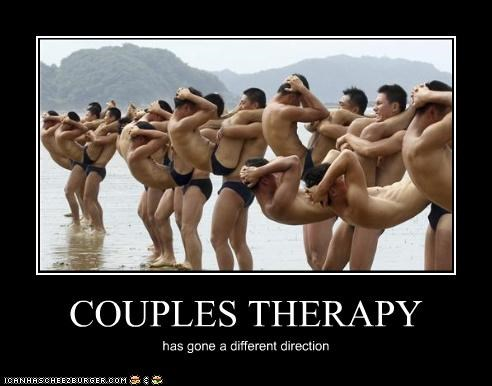 COUPLES THERAPY has gone a different direction