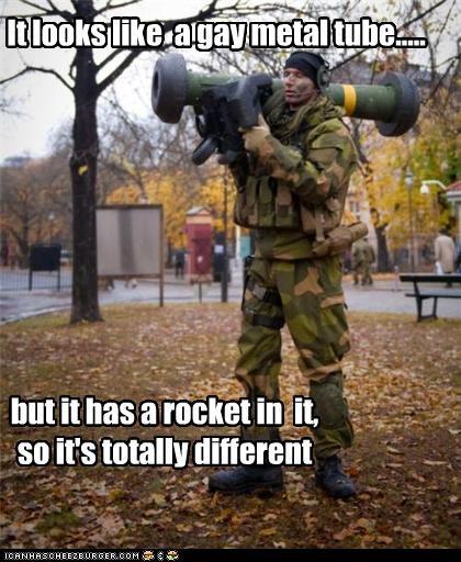 Gay military tube