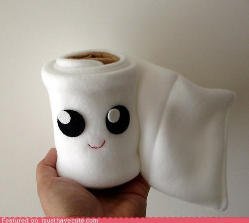 bathroom,cute-kawaii-stuff,face,figurine,Fluffy,friend,Plush,soft,TP