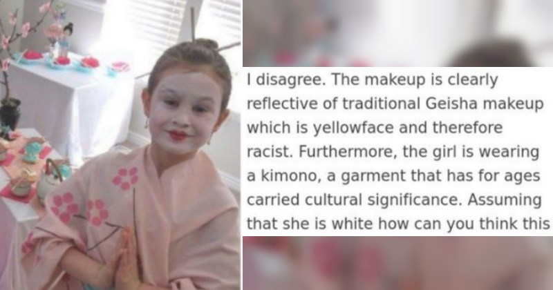 SJW Calls Little Girl Racist For Dressing Like Geisha, Gets Destroyed By Japanese Person