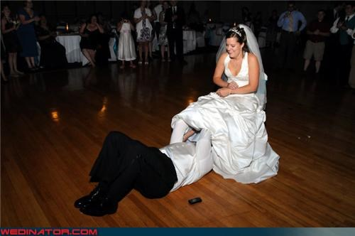 confusing Crazy Brides crazy groom digging for buried treasure eww funny garter picture funny wedding photos Garter garter excavation groom search lady parts miscellaneous-oops surprise technical difficulties tradition upskirt wtf