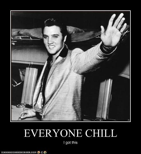 chill cool Elvis Elvis Presley lolz musician - 3984220928