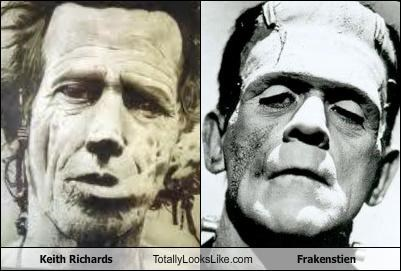 frankenstein,Keith Richards