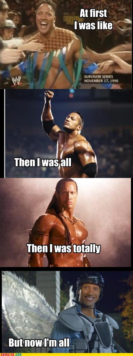 acting bad choices but then i Dwayne Johnson the rock The Tooth Fairy wrestling wwe - 3985594112