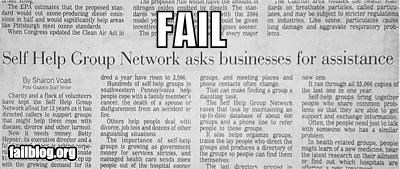 failboat headline irony newspaper self help - 3985685760
