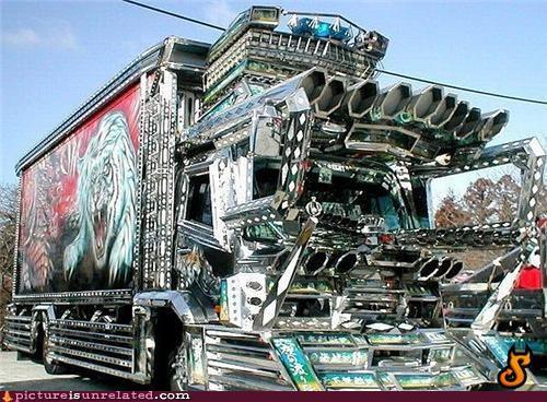 OverKill 9000,shiny,truck,wtf