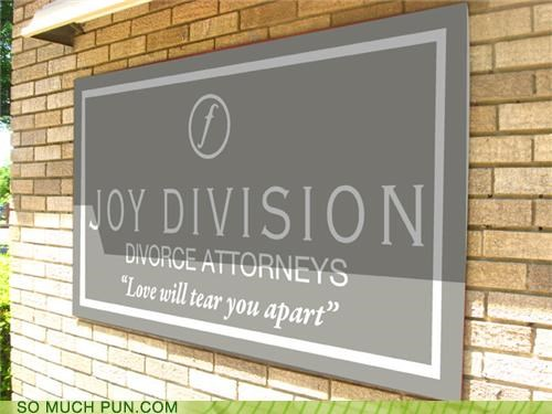 divorce joy division lawyer love will tear us apart puns the 80s unknown pleasures - 3985780992