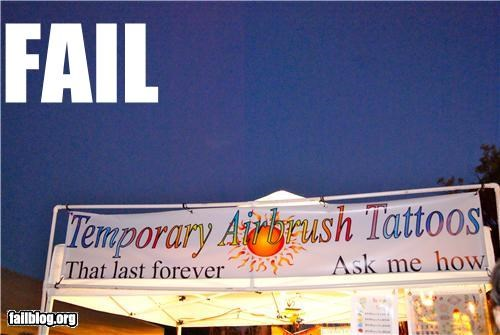 failboat g rated meaning of words sign tattoos temporary tent - 3986360064