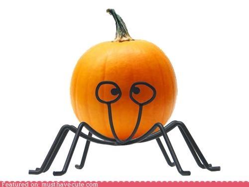 cute-kawaii-stuff eyes face goofy halloween jack o lanterns pumpkins stand - 3986682112