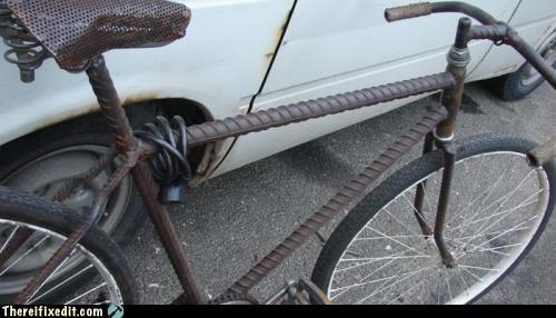 bicycle Hall of Fame homemade Kludge rebar - 3988279552
