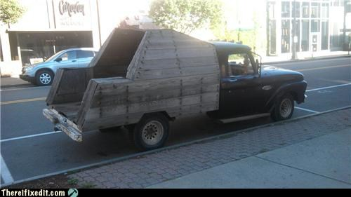 car,its-a-truck-now,Kludge,truck,wooden bumper