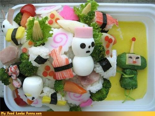 bento,bento box,box,Katamari Damacy,Katamari Damacy Prince,playstation,prince,video games