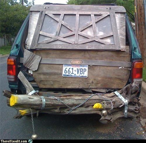 bells bumper car Kludge wooden bumper - 3988499968