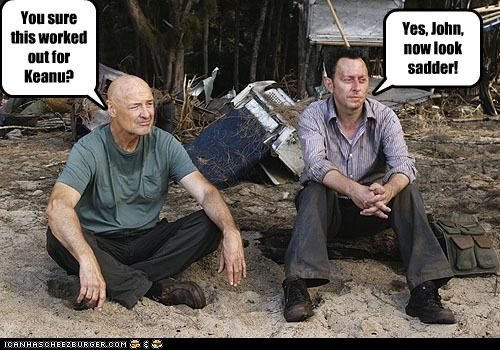 lolz,lost,Memes,Michael Emerson,sad keanu,terry-oquinn,TV