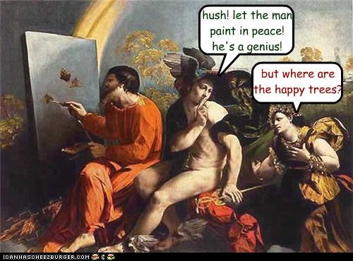 art bob ross funny painting - 3988721664