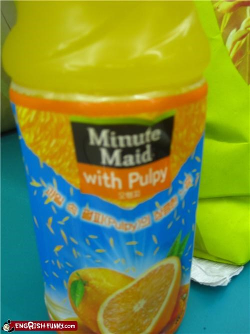 bad name drink juice name product