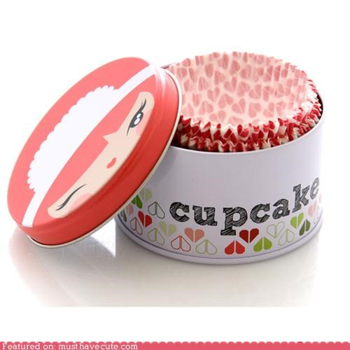 cases cupcake Kitchen Gadget momiji - 3988827904