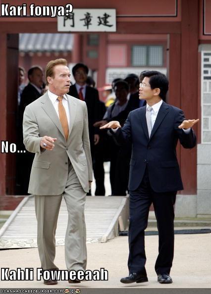 Arnold Schwarzenegger foreign funny lolz - 3989406976