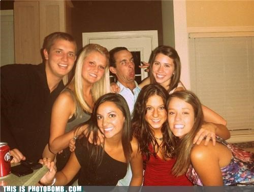 Animal Bomb babes Party photobomb sneeze face - 3989863680