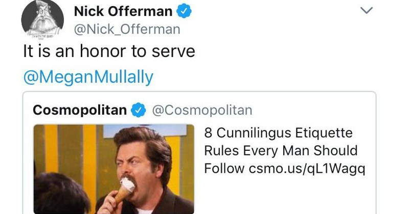 Reasons Why Nick Offerman and His Wife WIN at Marriage