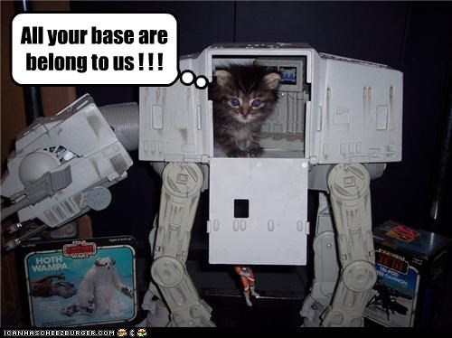 All your base are belong to us ! ! !
