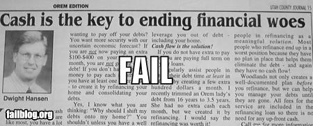 common sense failboat financial g rated headline money newspaper - 3993193472