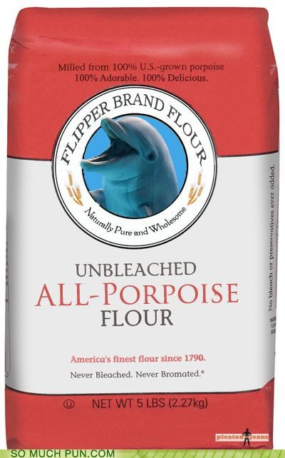 adorable all-purpose baking delicious dolphin flour muffins porpoise squeaking unbleached - 3993276160