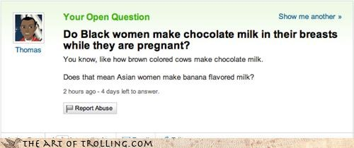 chocolate milk racism soy