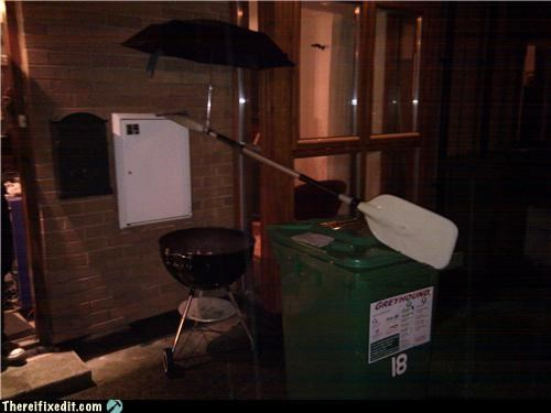 barbecue,bbq,Kludge,umbrella,waterproof