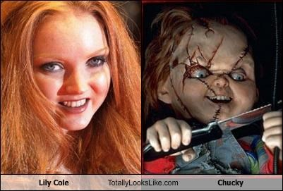 Chucky doll horror Lily Cole model movies