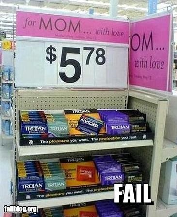 classics condoms failboat gifts innuendo mothers day suggestions - 3995727104