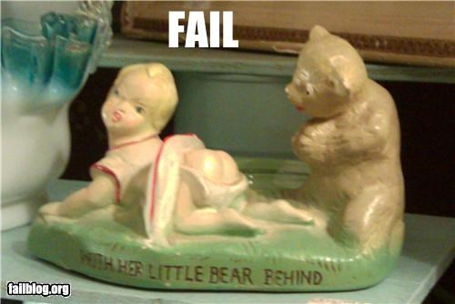bears failboat minis statues Things That Are Doing It underware