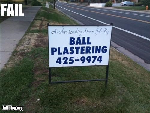 balls boardwalk business FAIL Hall of Fame liquor signs - 3997208576
