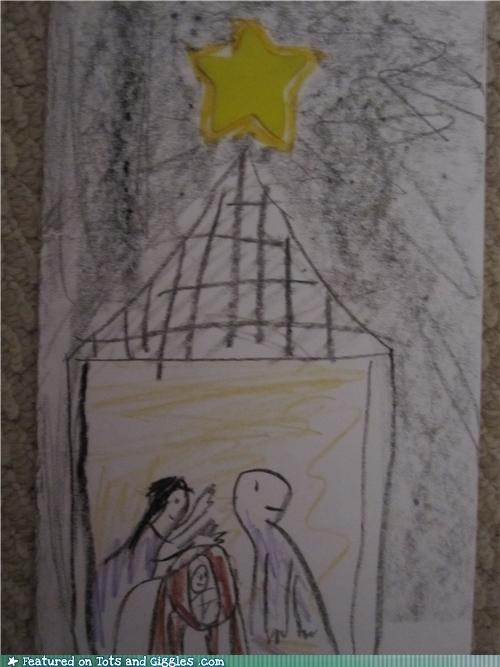 bible birth books christmas dinosaurs evolution funny kids drawings god jesus joseph lessons manger mary miracles stories tales Tots and Crafts writing - 3997451008