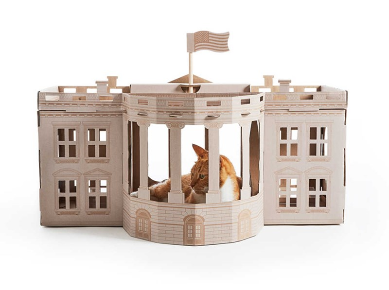 monuments Cats houses cardboard - 3998213